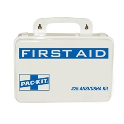 25-Person Weatherproof First Aid Kit (68 Piece)