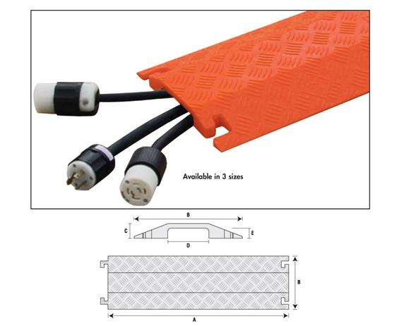 OPTIONS FOR FASTLANE® SMALL DROP OVER PROTECTORS- Optional Rubber Pad Kit, For use with HFL1X4, HFL2X1.75