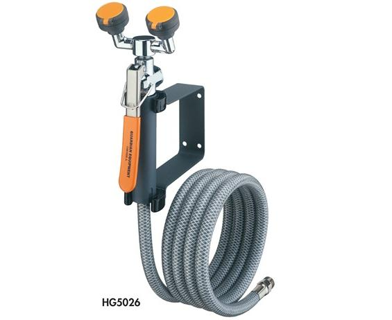 EYEWASH/DRENCH HOSE UNITS- Hand-Held Drench Hose - Single Head