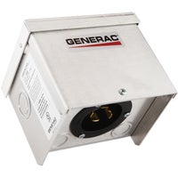 6343 Generac 30A Outdoor Generator Power Inlet Box 6343, 30A Outdoor Generator Power Inlet Box