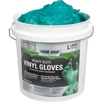 13703-300 Firm Grip Heavy-Duty Vinyl Disposable Glove disposable gloves