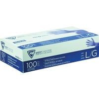 2905/L West Chester Protective Gear Posi Shield Nitrile Disposable Glove With Textured Fingertips disposable gloves