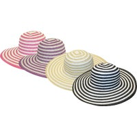 43F6 Midwest Quality Glove Striped Sun Hat Midwest Quality Glove Striped Sun Hat