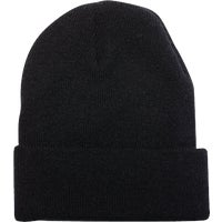 KN-400-BLACK Outdoor Cap Cuffed Sock Cap cap sock