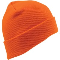 KN-400-BLAZE Outdoor Cap Blaze Orange Cuffed Sock Cap cap sock