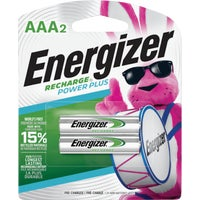 NH12BP-2 Energizer Recharge AAA Rechargeable Battery battery rechargeable