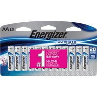 L91SBP-12 Energizer AA Ultimate Lithium Battery battery lithium