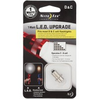 LRB2-07-PRHP NiteIze C/D Flashlight LED Upgrade Kit LRB2-07-PRHP, 1W LED Upgrade Kit C/D