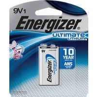 L522BP Energizer 9V Ultimate Lithium Battery battery lithium