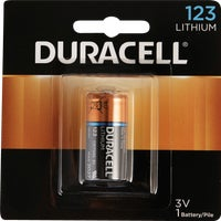 11210 Duracell 123 Ultra Lithium Battery battery specialty