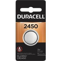 44287 Duracell 2450 Lithium Coin Cell Battery 44287, 44287 Duracell Lithium Coin Watch Battery