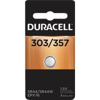 40087 Duracell 303/357 Silver Oxide Button Cell Battery 40087, 40087 Duracell Silver Oxide Coin Watch Battery