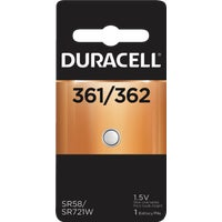 40887 Duracell 361/362 Silver Oxide Button Cell Battery 40887, 40887 Duracell Silver Oxide Coin Watch Battery