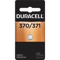 41287 Duracell 370/371 Silver Oxide Button Cell Battery 41287, 41287 Duracell Silver Oxide Coin Watch Battery