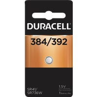 42287 Duracell 384/392 Silver Oxide Button Cell Battery 42287, 42287 Duracell Silver Oxide Coin Watch Battery