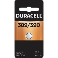 66141 Duracell 389/390 Silver Oxide Button Cell Battery 66141, 66141 Duracell Silver Oxide Coin Watch Battery