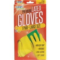 HS-01839 Clean Home Premium Latex Gloves gloves rubber