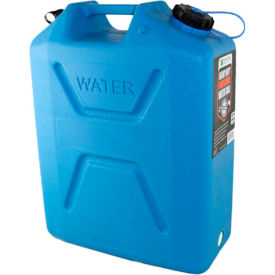 wavian water can, 3214 blue, 5 gallon with spout Wavian Water Can, 3214 Blue, 5 Gallon with Spout
