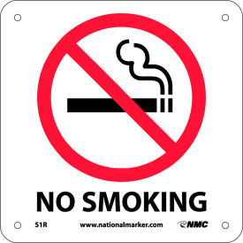 S1R Graphic Facility Signs - No Smoking - Plastic 7x7