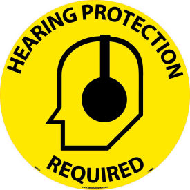 WFS16 Floor Signs - Hearing Protection Required