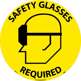 WFS15 Floor Signs - Safety Glasses Required