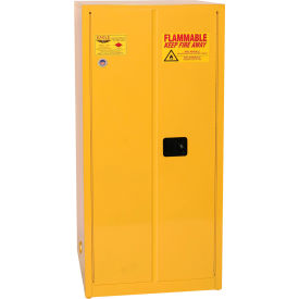 1962 Eagle Flammable Cabinet with Manual Close Double Door 60 Gallon