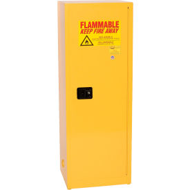 2310 Eagle Flammable Cabinet with Self Close Single Door 24 Gallon