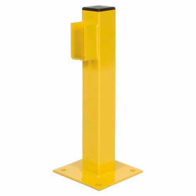 "MPBP20E 20""H Single Rail End Post"