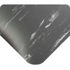 "420.12x3CUTAMCH Antimicrobial Tile Top Antifatigue Mat 1/2"" Thick 3 Ft Wide Up To 60 Ft Charcoal"