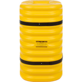 "1708 Eagle Column Protector, 8"" Column Opening Yellow, 1708"