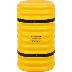 "1712 Eagle Column Protector, 12"" Column Opening Yellow, 1712"