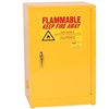 1925 Eagle Compact Flammable Cabinet - Manual Close Door 12 Gallon
