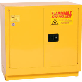1971 Eagle Compact Flammable Cabinet - Manual Close Door 22 Gallon