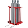 270217 Forkliftable Cylinder storage Caddy, Stationary For 4 Cylinders