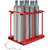 270219 Forkliftable Cylinder storage Caddy, Stationary For 8 Cylinders