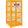 270253 Cylinder Storage Cabinet Single Door Horizontal, 8 Cylinder Capacity
