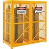 270255 Cylinder Storage Cabinet Double Door Vertical, 18 Cylinder Capacity
