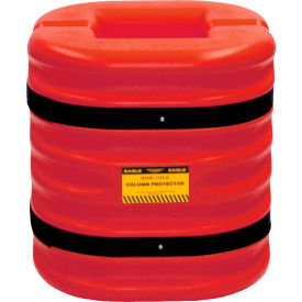 "eagle column protector, 12"" column opening, 24"" high, red, 1724-12-red Eagle Column Protector, 12"" Column Opening, 24"" High, Red, 1724-12-RED"