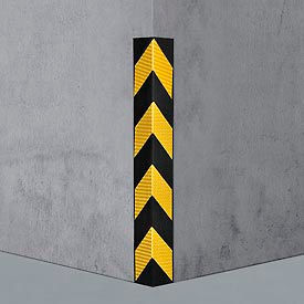 "708113 Rubber Corner Guard 90;, Medium Duty, 31""L"