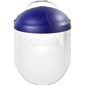 70071522265 3M; Ratchet Headgear W/ Faceshield, H8A, Clear, Polycarbonate, 1 Each