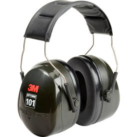 3m™ peltor™ optime™ 101 earmuffs, over-the-head, h7a 10 3M™ PELTOR™ Optime™ 101 Earmuffs, Over-The-Head, H7A 10