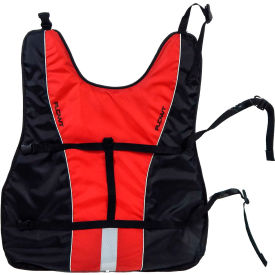flowt 40902-2-2x dog life vest, red, 2x-large Flowt 40902-2-2X Dog Life Vest, Red, 2X-Large