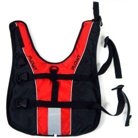 flowt 40902-2-m dog life vest, red, medium Flowt 40902-2-M Dog Life Vest, Red, Medium