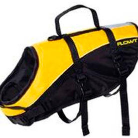 flowt 40903-s dog life vest, yellow, small