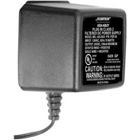 24 volt 1.5 amp. plug-in filtered regulated dc power supply 24 Volt 1.5 Amp. Plug-In Filtered Regulated DC Power Supply