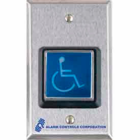 illuminated request to exit button with ada symbol Illuminated Request To Exit Button With ADA Symbol