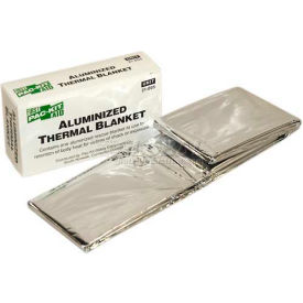 pac-kit aluminized rescue blanket, 21-005 Pac-Kit Aluminized Rescue Blanket, 21-005