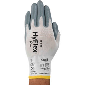 205572 HyFlex; Foam Nitrile Coated Gloves, Ansell 11-800-9, 1-Pair