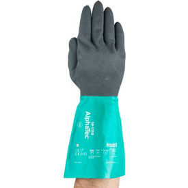58-535B-8 AlphaTec; Chemical Resistant Gloves, Ansell 58-535B-8, 1-Pair