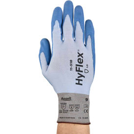 11-518-10 HyFlex; Seamless Polyurehtane Coated Gloves, Ansell 11-518, Size 10, 1 Pair